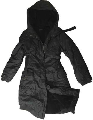 Ikks Black Faux fur Coat for Women
