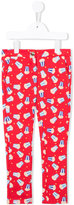 Little Marc Jacobs popcorn print trousers - kids - Cotton/Spandex/Elastane - 12 yrs
