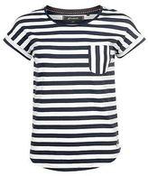 Kangol Womens YD Stripe T Shirt Crew Neck Tee Top Short Sleeve Round Pattern