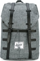Herschel Retreat backpack - men - Polyester/Polyurethane/Leather - One Size