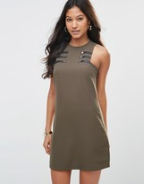 Rare Button Detail Shift Dress
