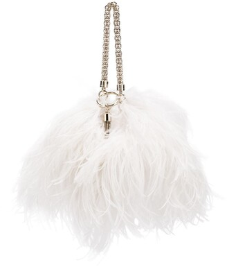 Jimmy Choo Callie feather bag