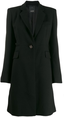 Pinko Tailored Midi Coat