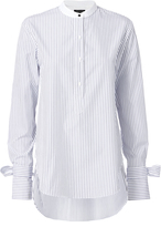 Rag & Bone Dylan Tie Sleeve Striped Blouse