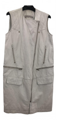 Preen White Leather Leather jackets