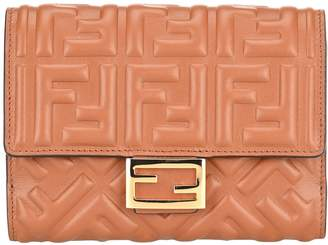 Fendi FF Embossed Wallet