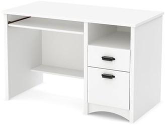 Three Posts Ellenburg Computer Desk Color: Rubbed Black