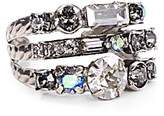 Sorrelli Swarovski Crystal Triple Row Ring