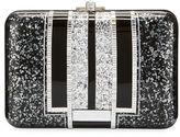 Judith Leiber Couture Slim Slide Crystal Evening Clutch Bag