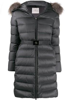 Moncler Belted Padded Coat