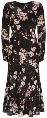 Mint Velvet Gabriella Floral Midi Dress