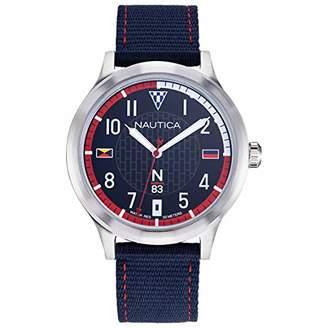 Nautica N83 Men's NAPCFS910 Crissy Field Silicone Strap Watch