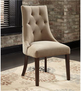 Signature Design by Ashley Mestler Set of 2 Upholstered Dining Side Chairs