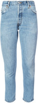 RE/DONE cropped denim jeans - women - Cotton - 25