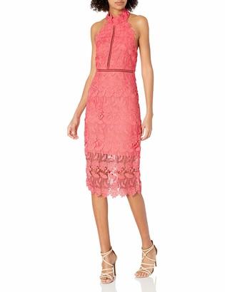 Bardot Women's All Over lace Scalloped Edge Along Neck Armhole and Hem Party Dress