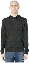 J.Crew Aloe Pullover Hoodie (Marled Coal) Men's Clothing