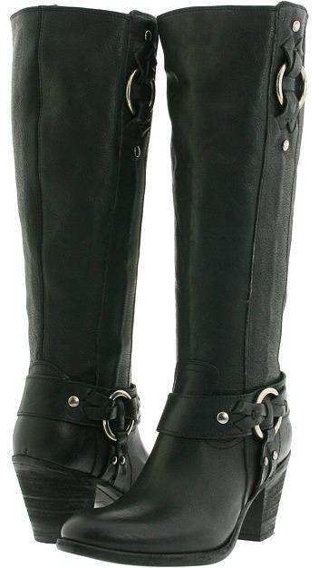 Frye Taylor Ring Zip (Black) - Footwear