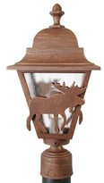 Penfield Moose Series 1-Light Lantern Head Alcott Hill Finish: Architectural Bronze