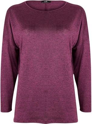 Wallis Berry Long Sleeve Top