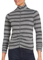 Calvin Klein Collection Long Sleeve Zip-Front Jacket