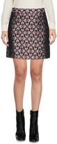 MAISON KITSUNÉ Mini skirts - Item 35346453