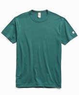 Todd Snyder + Champion Champion Basic Jersey Tee in Storm Green