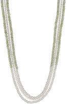 Lucky Brand Multi Layer Beaded Necklace