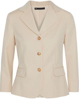 The Row Myram Cotton-blend Sateen Blazer