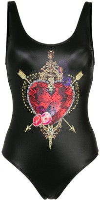Camilla Jewel-Print Swimsuit
