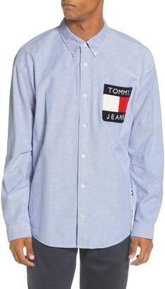Tommy Jeans TJM Flag Button-Down Shirt