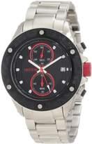 Redline red line Men's RL-10106DV Carbon Brake Chronograph Black Dial Watch