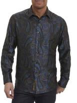 Robert Graham Lake Placid Paisley Silk Shirt