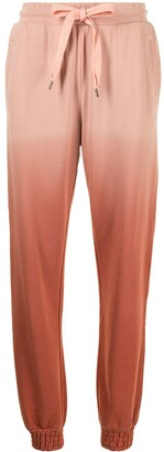The Upside Alena ombre-print track trousers