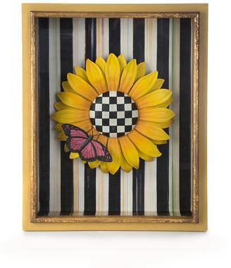 Mackenzie Childs Sunflower Shadow Box