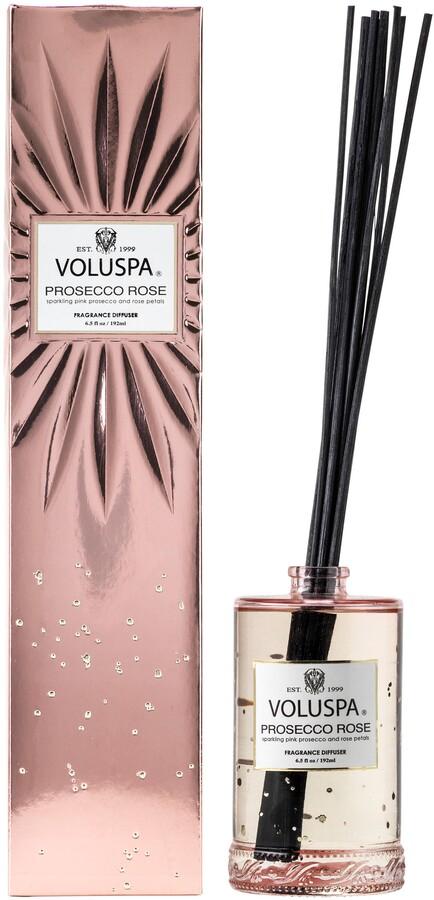 Voluspa Vermeil Prosecco Rose Fragrant Oil Diffuser