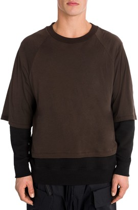 Unravel Project T-Shirt Layered Pullover