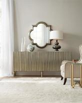 Hooker Furniture Riley Silver Wrapped Console