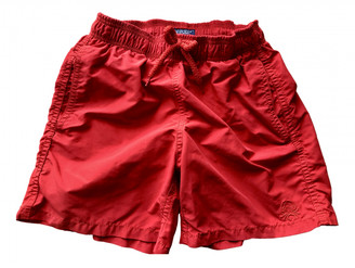 Vilebrequin Red Polyester Shorts