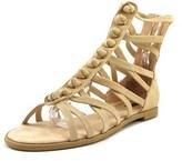 Kensie Macklin Women Open Toe Synthetic Nude Gladiator Sandal.