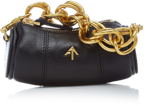 MANU Atelier Micro Cylinder Leather Bag