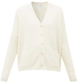 Allude V-neck Cashmere Cardigan - Cream