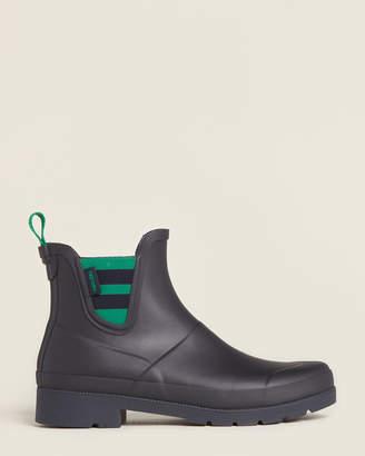 Tretorn Night & Green Lina 2 Short Rain Boots