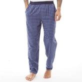 Ben Sherman Mens Parker Woven Lounge Pants Navy/Blue Check