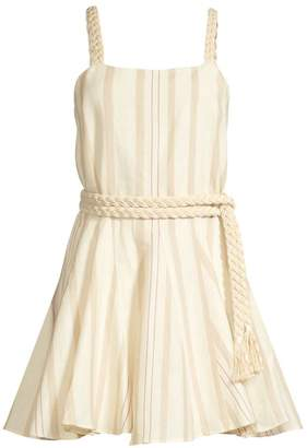 Alexis Dimma Striped Linen Dress