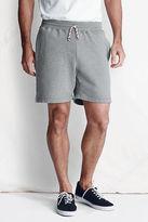 Lands' End Men's Regular Made in USA Sweat Shorts