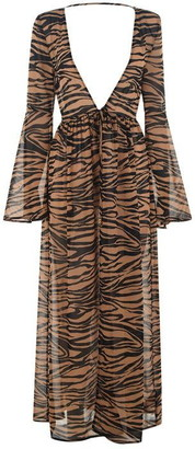 Biba Tiger Print Maxi Kimono