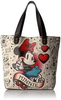 Loungefly Disney Minnie Mouse Tattoo Tote Bag