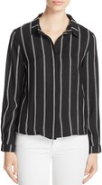 Suncoo Leah Striped Shirt