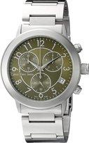Calvin Klein Men's K8717150 Continual Analog Display Swiss Quartz Silver Watch
