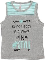 "Pink Velvet Little Girls' ""Being Happy"" Top"